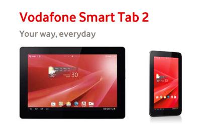 Vodafone Smart Tab 2 Teaser