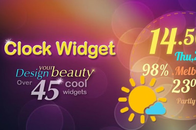 Beautiful Clock Widgets Teaser