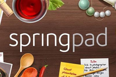 Springpad Teaser