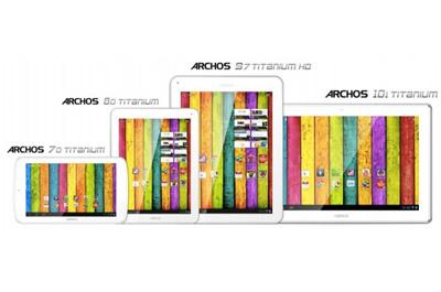 Archos Titanium Teaser