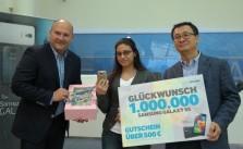 1000000 Samsung Galaxy S5