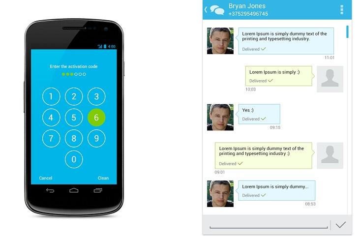 Sichere Messenger Test