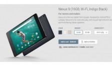 Nexus 9 Pre-Order