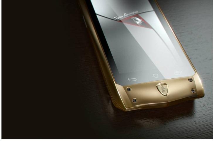 tauri 88 lamborghini smartphone kostet 6000 euro 24android. Black Bedroom Furniture Sets. Home Design Ideas