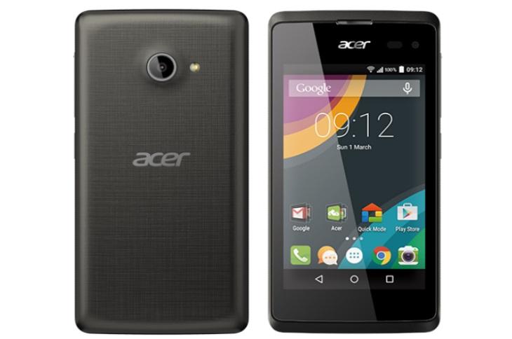 Acer präsentiert Liquid Z220 Smartphone auf MWC 2015 in ...