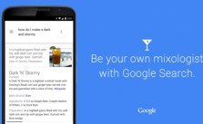 Google Search Cocktails