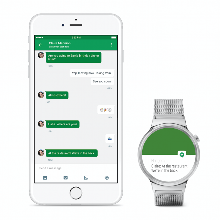 Android Wear für iPhone