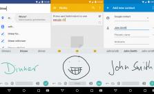 Google_Handschrifteingabe_App