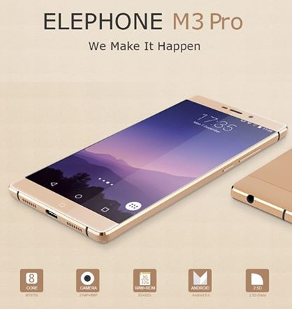 Elephone_M3_Pro_front