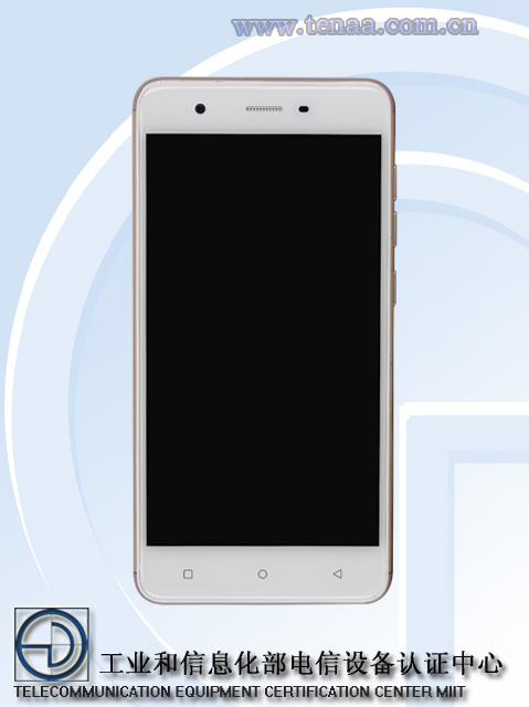 Gionee_F105_Front