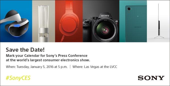 Sony Pressekonferenz