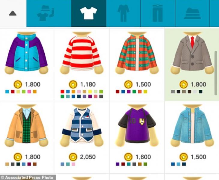 Miitomo_Kleidung