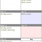 Calendar Pad Pro Android App