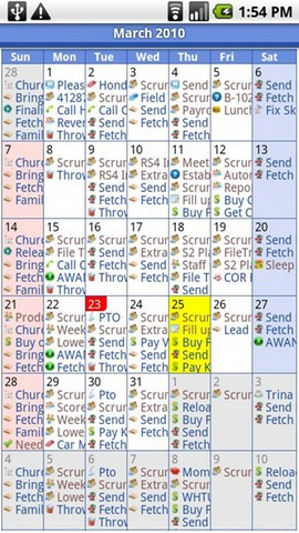 mehrere google kalender android