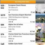 Kayak Flight and Hotel Search Android App