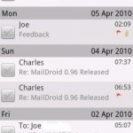 Maildroid Android App