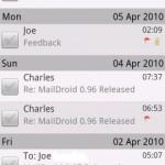 Maildroid Android App