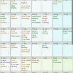 Touch Calendar Android App