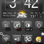 Weather & Toggle Widget Android Widgets
