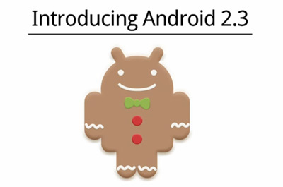 Android 2.3 Gingerbread Teaser