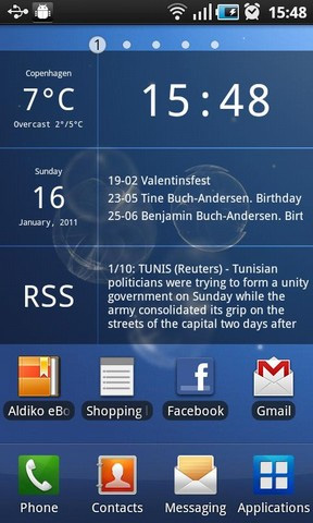 Android kalender hintergrund