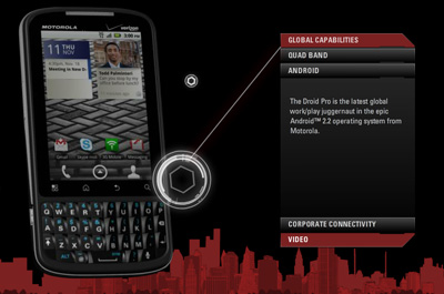 Motorola Pro Teaser