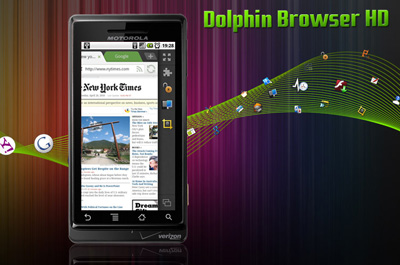 Dolphin Browser HD Teaser