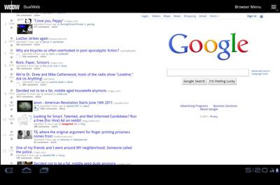 DualWeb Browser Teaser