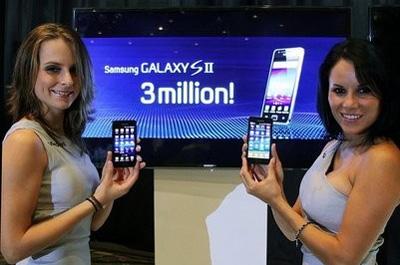 3 Mio. Samsung Galaxy S 2 Teaser