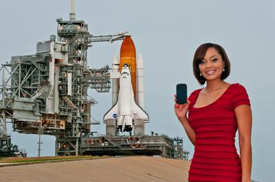 Google Nexus S Space Shuttle Teaser