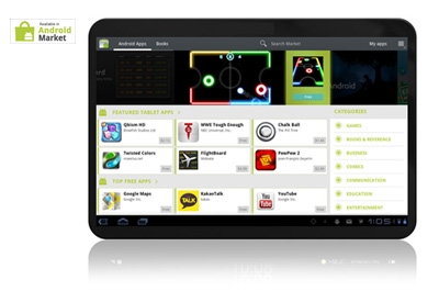 Android Market Honeycomb Teaser