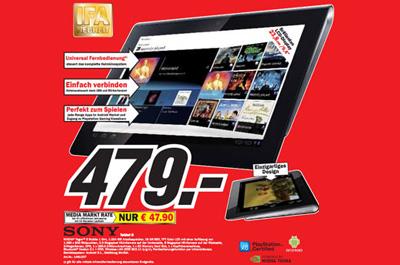 Sony Tablet S Media Markt Teaser