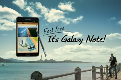 Samsung Galaxy Note Teaser
