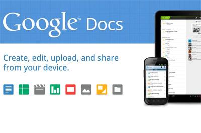 Google Text & Tabellen Teaser
