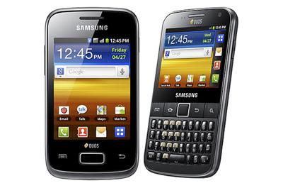 Samsung Galaxy Y & Y Pro Duos Teaser