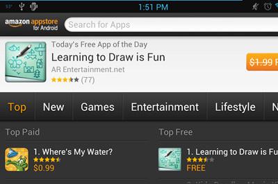 Amazon Appstore Teaser