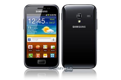 Samsung Galaxy Ace Plus Teaser