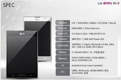 LG Optimus Vu 2 Teaser
